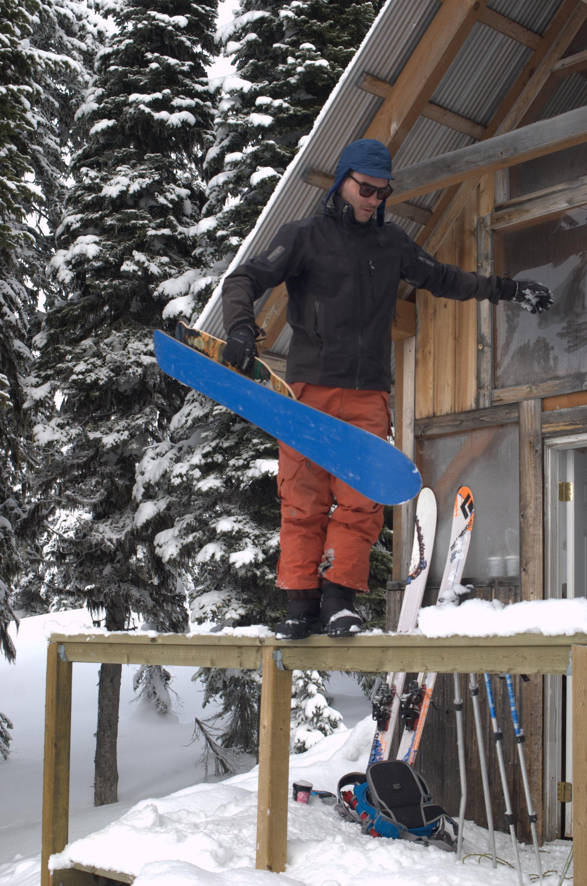 Phillip Lemire Snowskate